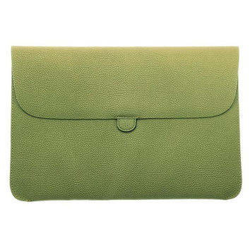 Soft Leather Carry Sleeve Bag For Macbook Pro Air 13 Inch