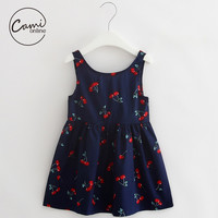 Cute Cotton Print  Dress