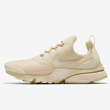 NIKE AIR PRESTO Apricot Fashion Trending Sports shoes big mesh khaki H-MDTY-SHINING