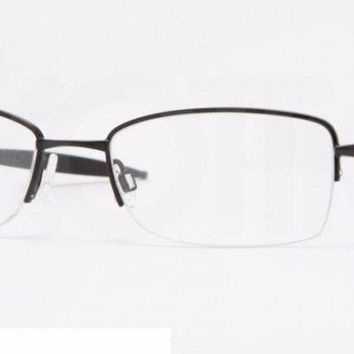 Oakley Men's Frame Sculpt OX3070 12-455 Gunmetal Rectangular Eyeglasses 52mm