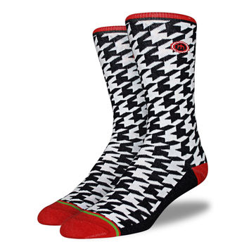 The Sam - Men's Houndstooth Socks