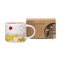 Starbucks You Are Here Collection Japan Spring Ceramic Coffee Mug New with Box