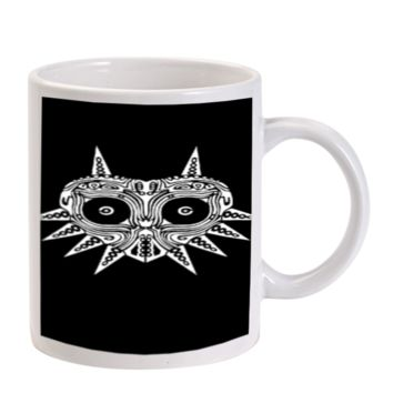 Gift Mugs | Sugar Skull Majora Mask Ceramic Coffee Mugs
