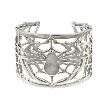 Spiderman Web Cuff Bracelet