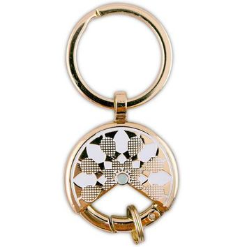 Gold Dream Catcher Keychain Wedding Favour Gold (Pack of 6)