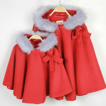 Autumn&Winter Mother Daughter Christmas Outfits Fashion