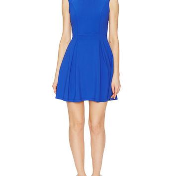 Jersey Inverted Pleat Dress