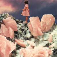 ROSE QUARTZ Art Print by Beth Hoeckel Collage & Design