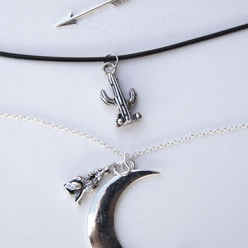 Desert Moon Trio Necklace Set