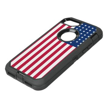 American Flag OtterBox Defender iPhone 7 Case