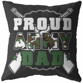 Army Pillows Proud Army Dad