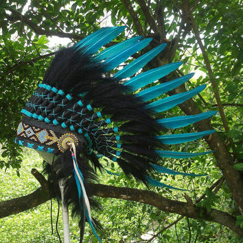 Baby Indian Headdress, Toddler Indian Headdress, Baby Native American Clothing, Toddler Native American Costume, First birthday, Pow wow