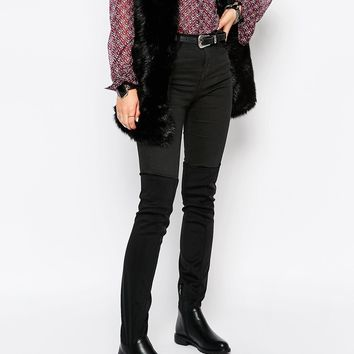 Pieces Roz Flat Over the Knee Boots