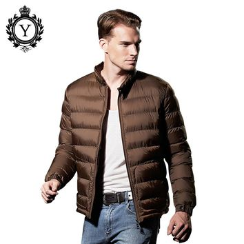 Winter Jacket Men Fashion Ultralight Mens Down Jackets Nylon Parkas Hombre For Mens Winter Jackets And Coats