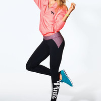 Pieced Ultimate Yoga Legging - PINK - Victoria's Secret