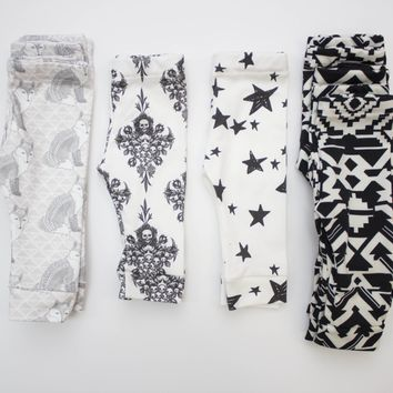 3-6 Month Leggings #5 for Boys or Girls