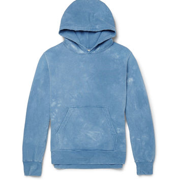 Remi Relief - Tie-Dyed Cotton-Jersey Hoodie | MR PORTER