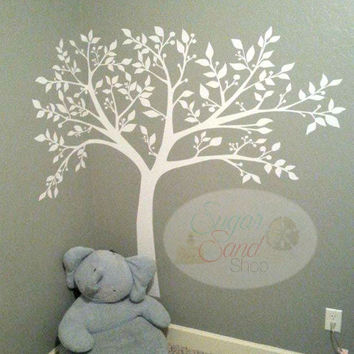 Babys room decal, wall decal, Tree Wall Decal / Nursery Tree Wall Decal