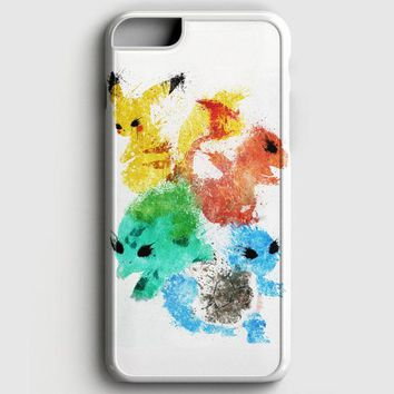 Pikachu Painting Pokemon iPhone 8 Case