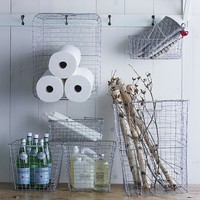 Wire Mesh Storage - Rectangular Hamper