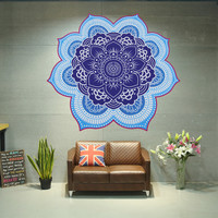 Flower Shaped Wall Hanging/Tapestry