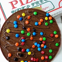Chocolate Pizza - candy (milk or dark, small, 14 oz) - Chocolate Pizza Company