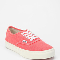 Vans Washed Canvas Authentic Lo Pro Sneaker