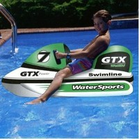 Wet Ski Pool Float Toy