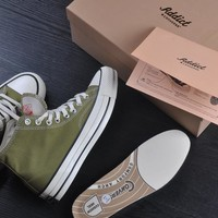 Converse Addict Chuck Taylor Canvas Hi Flats Sneakers Sport Shoes
