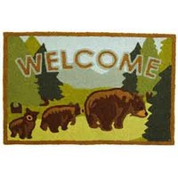 Jellybean Bear Welcome Home Rug
