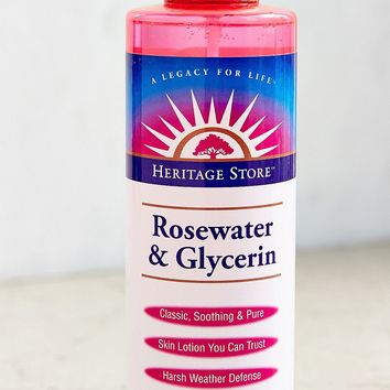Heritage Store Rosewater & Glycerin Spray | Urban Outfitters