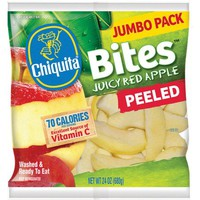 Chiquita Bites Cut Fruit Packaged 24 oz Peeled Red Apple Slices - Walmart.com