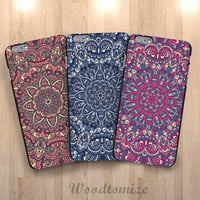 Colorful Mandala phone case for Sony Xperia z, z1, z1s, z2, z3, z3 compact, floral cover for Moto G, Moto G2, Moto x, Moto x2, Moto E (N15)