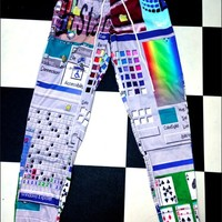 SWEET LORD O'MIGHTY! WINDOWS 95 SWEATPANTS