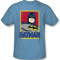 Classic Batman Portrait T-Shirt at Old School Tees