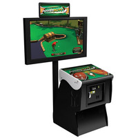 The Miniature Golf Arcade Game - Hammacher Schlemmer