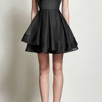 Stevie Silk Organza Mini Dress