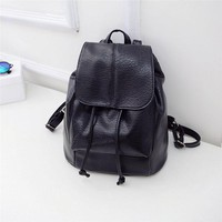 Fashion Women Backpack female Leather Satchel School Bag Shoulder Rucksack Bags Mini Travel schoolbag backpack mochila feminina