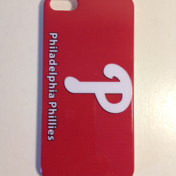 Philadelphia Phillies red phone cover for the Iphone 5 5s