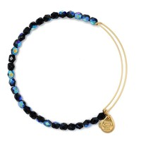 Midnight Rock Candy Beaded Bangle