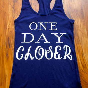 one day closer tank top