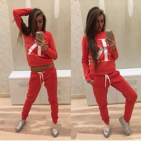 """Calvin Klein""Fashion  Sweater Pants Sweatpants Set Two-Piece Sportswear"