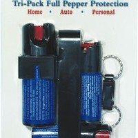 Pepper Shot Tri-Pack 3 Pepper Sprays Save $$$