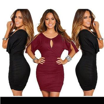 Bell Sleeve Casual Party Dress
