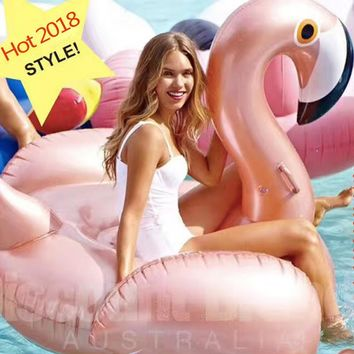 Flamingo Inflatable Swimming Float Tube