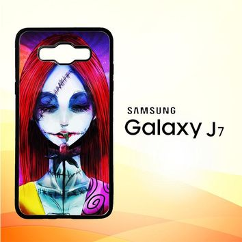 Sally The Nightmare Before Christmas Y0860 Samsung Galaxy J7 Edition 2015 SM-J700 Case