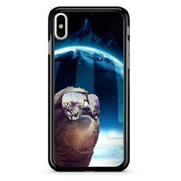 Sloth Llama Laser iPhone X Case