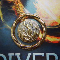 Divergent Dauntless necklace