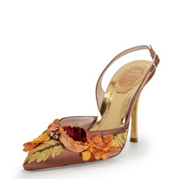 Embellished Floral Slingback by Rene Caovilla at Gilt