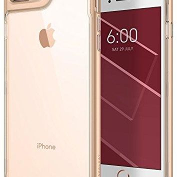 iPhone 8 Plus Case / iPhone 7 Plus Case Caseology [Skyfall Series] Slim Transparent Clear Scratch Resistant Protective Cover for Apple iPhone 8 Plus (2017) / iPhone 7 Plus (2016) - Gold